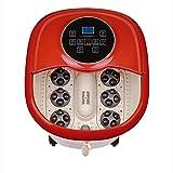 Alles in Einem Fuß-Badekurort-Massager, Tai Chi Motorisierte Shiatsu-Rolle, Die Akupunktur mit O2 Luftblasen, Digitale Justierbare Temperatur-U. Frequenz-Umwandlung auf LED-Anzeige Massiert