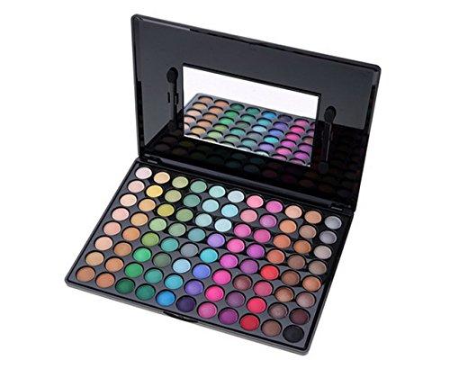 Preisvergleich Produktbild Teamyy 88 Farben Lidschatten Palette Matt mit Spiegel Professionale Make up Palette