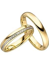 Suchergebnis Auf Amazon De Fur Eheringe Gold 585er Schmuck
