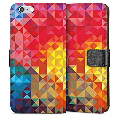 Apple iPhone 4 Housse Étui Silicone Coque Protection Printemps couleurs Motif Sideflip Sac