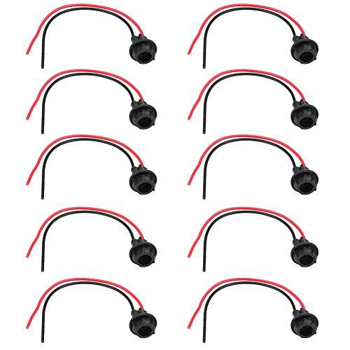 10 Stücke T10 Lampe Glühbirne Sockel Halter Stecker Verlängerung Auto Motorrad LED Keil Licht Basis Adapter -
