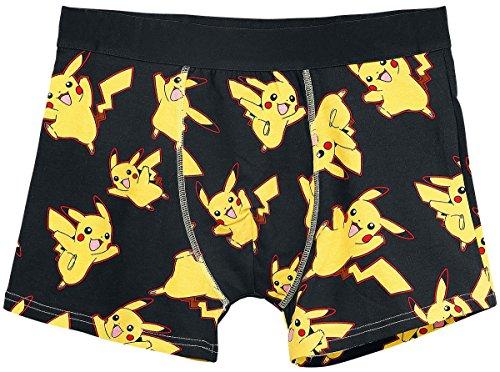 POKEMON Pikachu All Over, da uomo, modello Boxer, taglia M,