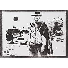 Clint Eastwood Gli Spietati Handmade Street Art - Artwork - Poster