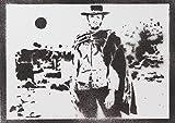moreno-mata Clint Eastwood Erbarmungslos Unforgiven Handmade Street Art - Artwork - Poster