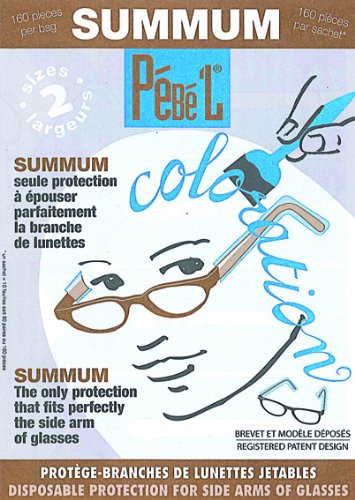 Pébé'L - Summum - Protection Branches de Lunettes - Lot de 160