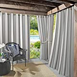Sun Zero UV-Protectant Vorhang Panel, grau, 137,2x 241,3cm