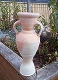 Amphore 35 cm aus Hellem Terracotta Terrakotta Pokal Vase Krug