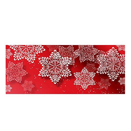 Preisvergleich Produktbild Gulin Weihnachtlicher bedruckter Teppich,  Rutschfeste Wasserdichte Badematte,  Anzug für Wohnzimmer Schlafzimmer Home Decor