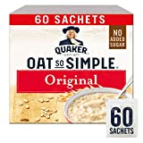 Quaker Oats So Simple Original Microwaveable 27g Sachets X 60