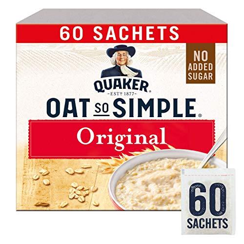"Quaker - Hafer ""Oats So Simple"" Original Mikrowellentauglich 27g Beutel X 60 Stück"
