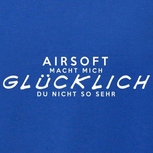 Airsoft macht mich glücklich - Unisex Pullover/Sweatshirt - 8 Farben Royalblau