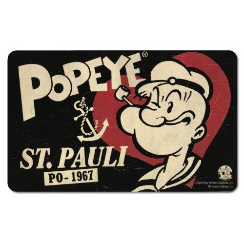 Frühstücksbrettchen Popeye div. Motive (Popeye St. (Hat Popeye)