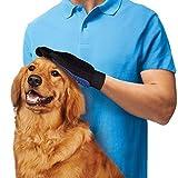 Takestop Fellpflegehandschuh für Haustiere, Bürste für kurz- und langhaarige Hunde, Katzen, Kaninchen, Pferde, Massagehandschuh - 5
