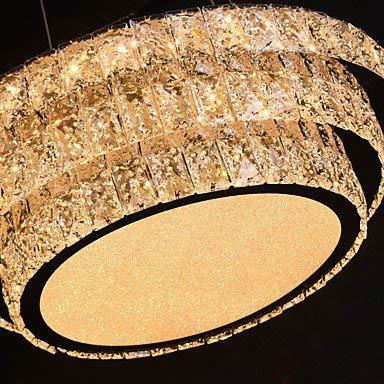 Moderne Kronleuchter Deckenleuchten Anhänger Contemporary Chandelier Downlight - Crystal Multi-Shade Mini Style Warmweiß + Weiß Led-Lichtquelle 3C Ce FCC Rohs für Wohnzimmerschlafzimmer, BinLZ Chand -