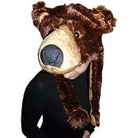 F75 Cappello Orso Bruno Costume Orso Costume