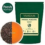 Tè in foglie Imperial Darjeeling dall'Himalaya (50 tazze) - Tè nero Second Flush 100% puro e non miscelato, certificato, direttamente dall'India, 100g
