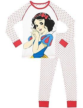 Disney Blancanieves - Pijama para niñas - Princesa Blancanieves - Ajuste Ceñido