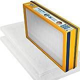 Swirl Ersatzfilterpaket 16 für Vallox Heinemann - Vallo Plus 450/500 SC/SE Sol ( 1 x F7 Pollenfilterkassette, 2 x G4 Filtermatten)