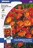 johnsons seeds - Pictorial Pack - Fiore - Papavero della California Strawberry Fields - 150 Semi