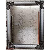 Global Photo Gallery - Wall Decor Console Mirror - Living Room/Bed Room (Dimension 74 X 58 X 2 cm) Silver Color (1)