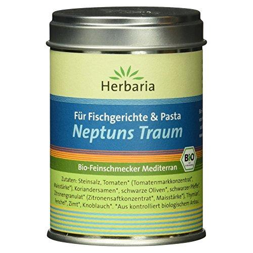 Herbaria Neptuns Traum Fischgewürz, 1er Pack (1 x 100 g Dose) - Bio