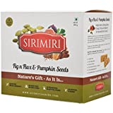 Sirimiri Nutrition Bar - Fig N Flax & Pumpkin Seeds - Pack Of 6 No Preservatives, No Added Sugar, Gluten Free, Soy Free