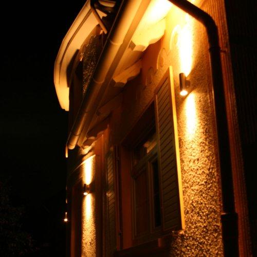 s`luce Steel 2.5 Wandlampe 2x9W, Edelstahl KH165A-2 - 5
