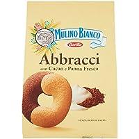 Mulino Bianco Biscotti Frollini Abbracci con Cacao e Panna Fresca - 700 gr