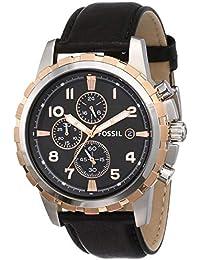 Fossil Chronograph Black Dial Men's Watch - FS4545