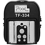 Adaptateur Convertisseur Hot Shoe Sabot Flash de PC Sync pour Sony MI to Canon/Nikon Pixel TF-334
