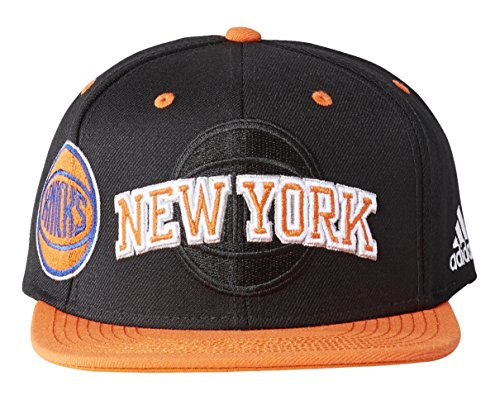 adidas Cap Knicks Schirmmütze New York für Tennis für Herren, Schwarz (Schwarz/Naranj / Az Preisvergleich