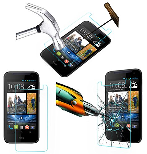 Acm Tempered Glass Screenguard For Htc Desire 310 Mobile Screen Guard Scratch Protector  available at amazon for Rs.349