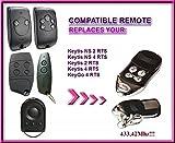 Somfy KeyGo 4RTS kompatibel Fernbedienung, 4Kanäle 433,42MHz Ersatz hochwertigem für das beste Preis.
