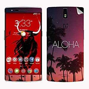 Theskinmantra ALoha SKIN/STICKER for OnePlus One