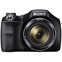 Sony DSCH300 Digital Compact Bridge Camera - Black