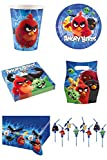 Amscan 9900931 – Teppich Tisch-Angry Birds