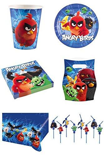 Amscan 9900933Angry Birds Film Geschenktüten