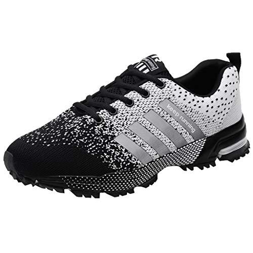Suitray Damen Sneaker Rot Sommer Cool Sport Schuhe Turnschuhe Schleicher Laufschuhe Mode Männer Streetwear Schuhe Joggingschuhe Mädchen (Turnschuhe Jane Mary Mädchen Für)