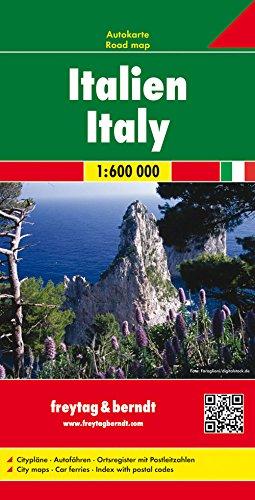 Preisvergleich Produktbild Italien, Autokarte 1:600.000, freytag & berndt Auto + Freizeitkarten