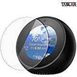 Taslar® Screen Protector For Amazon Echo Spot - Tempered Glass Screen Cover For Full Protection | Glare Reducing & Anti-Scratch Protectors For High Definition & Clear Display - Best Echo Spot Accessories By Taslar