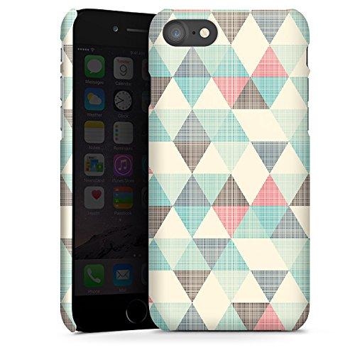 apple-iphone-7-hulle-premium-case-schutz-cover-dreiecke-vintage-muster-pastell