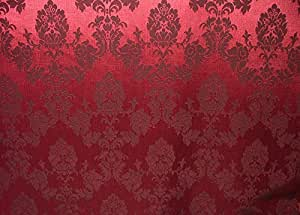 Rose Pink Prestigious Jacquard Brocade  Curtain Upholstery Fabric 5 Metres