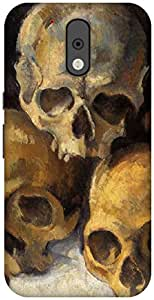 The Racoon Lean Skulls - Cezanne hard plastic printed back case / cover for Motorola Moto G Plus 4th Gen