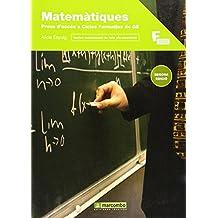 Matemàtiques per a la prova d'accés a cicles formatius de grau superior