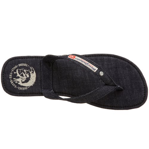 Diesel  Aqualife Seaside, Sandales homme Bleu Denim