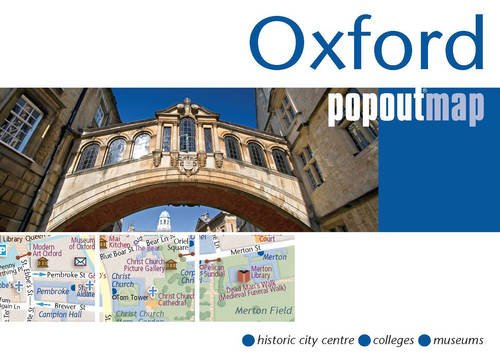 Oxford PopOut Map (Popout Maps)