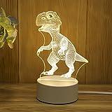 3D Stereo Nachtlicht Plug-in kreative Karikatur Mini Tischlampe Schlafzimmer Nacht einfache Geschenk...