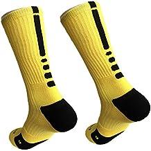 Yijia- Calcetines de baloncesto para hombre