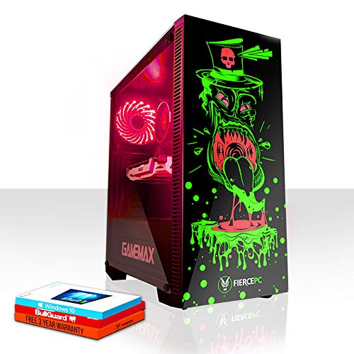 Fierce Gobbler High-End RGB Gaming PC - Schnell 4.5GHz Hex-Core Intel Core i7 8700K, 120GB Solid State Drive, 1TB Festplatte, 16GB 2666MHz, NVIDIA GeForce RTX 2080 8GB, Windows 10 installiert 869977