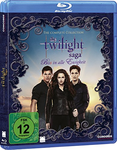 Die Twilight Saga - Biss in alle Ewigkeit/The Complete Collection [Blu-ray] (Twilight Blu Ray)